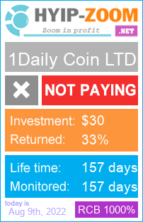 hyip-zoom.net - hyip 1daily coin ltd